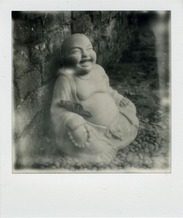 Bouddha jovial...