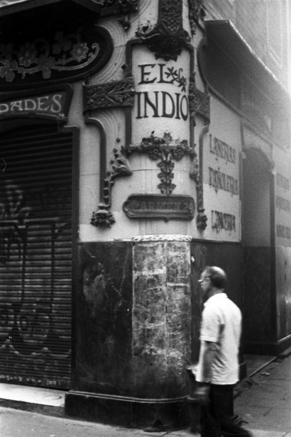 """Barcelona. """"El Indio""""..."""