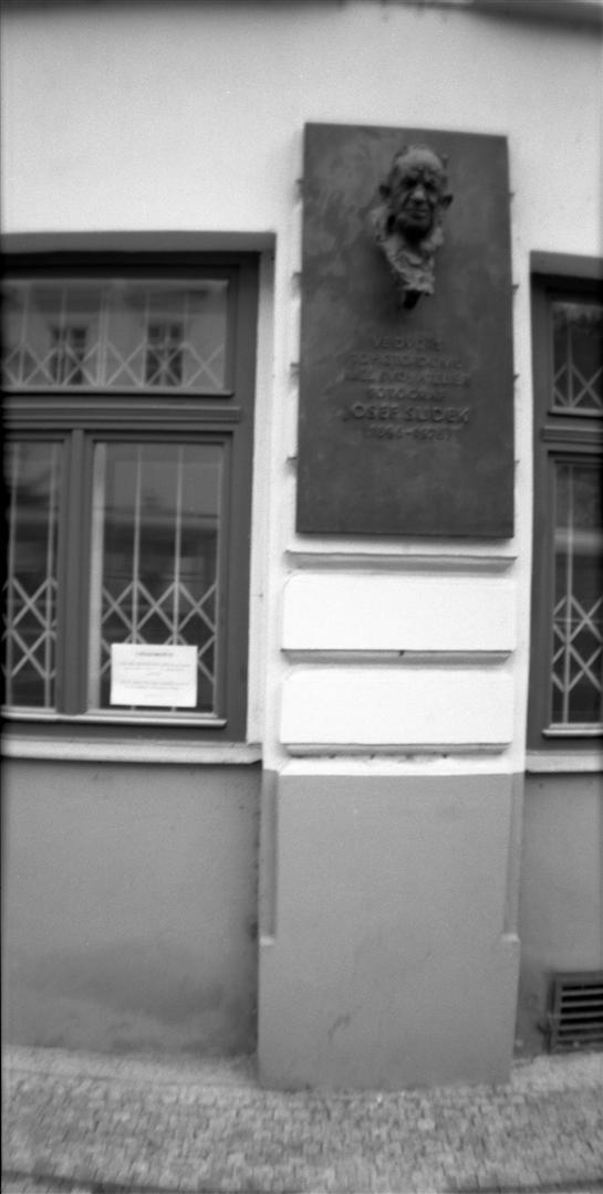 Atelier de Josef SUDEK, Prague
