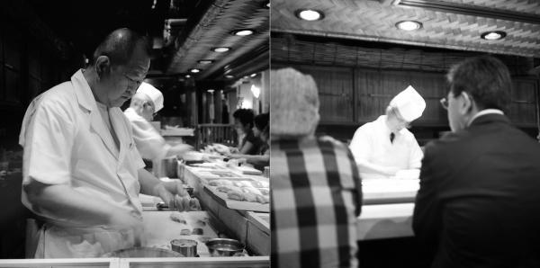 Journal Japonais.... Sushi Bar Tsukiji. Tokyo.